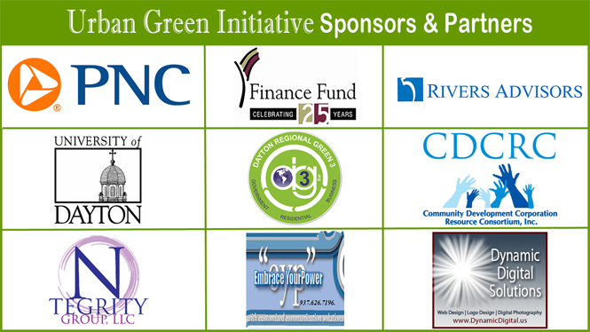 Sponsors and Partners for the Urban Green Initiative