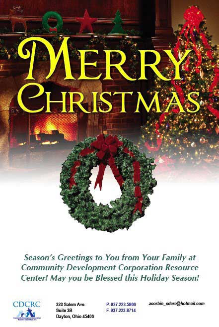 Merry Christmas from the CDCRC