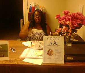 CDCRC - Vashawn Jones - Receptionist